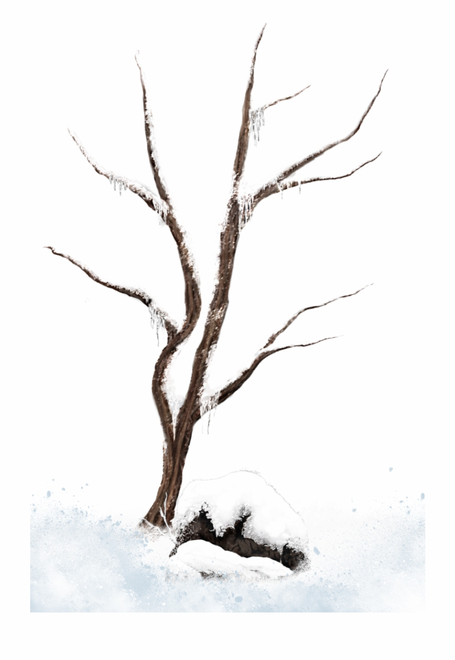 Free Snow Trees Png, Download Free Clip Art, Free Clip Art.