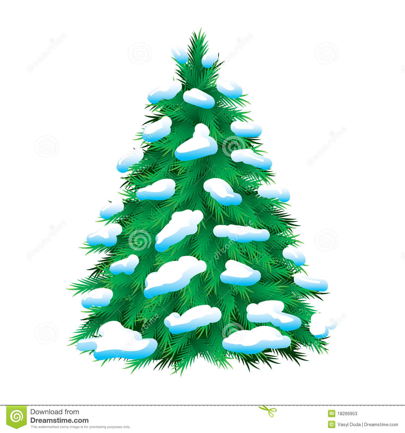 541 Winter Tree free clipart.