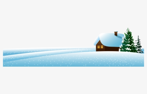 Free Winter Scene Clip Art with No Background.