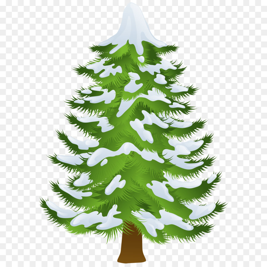 Pine Snow Tree Clip art.