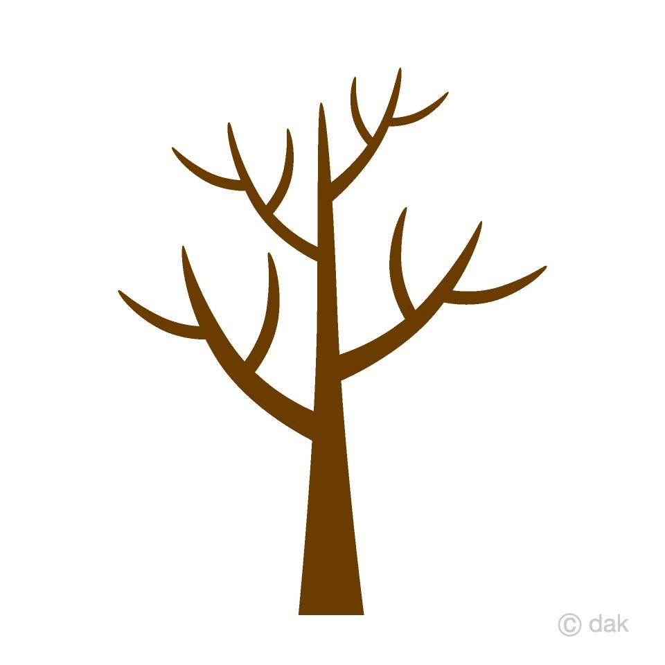 Free Winter Tree Clipart Image|Illustoon.
