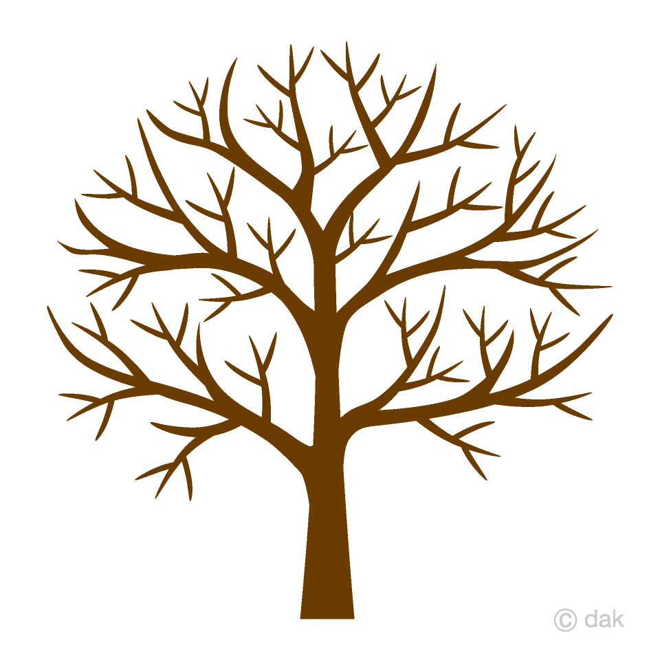 Free Leafless Tree Clipart Image|Illustoon.