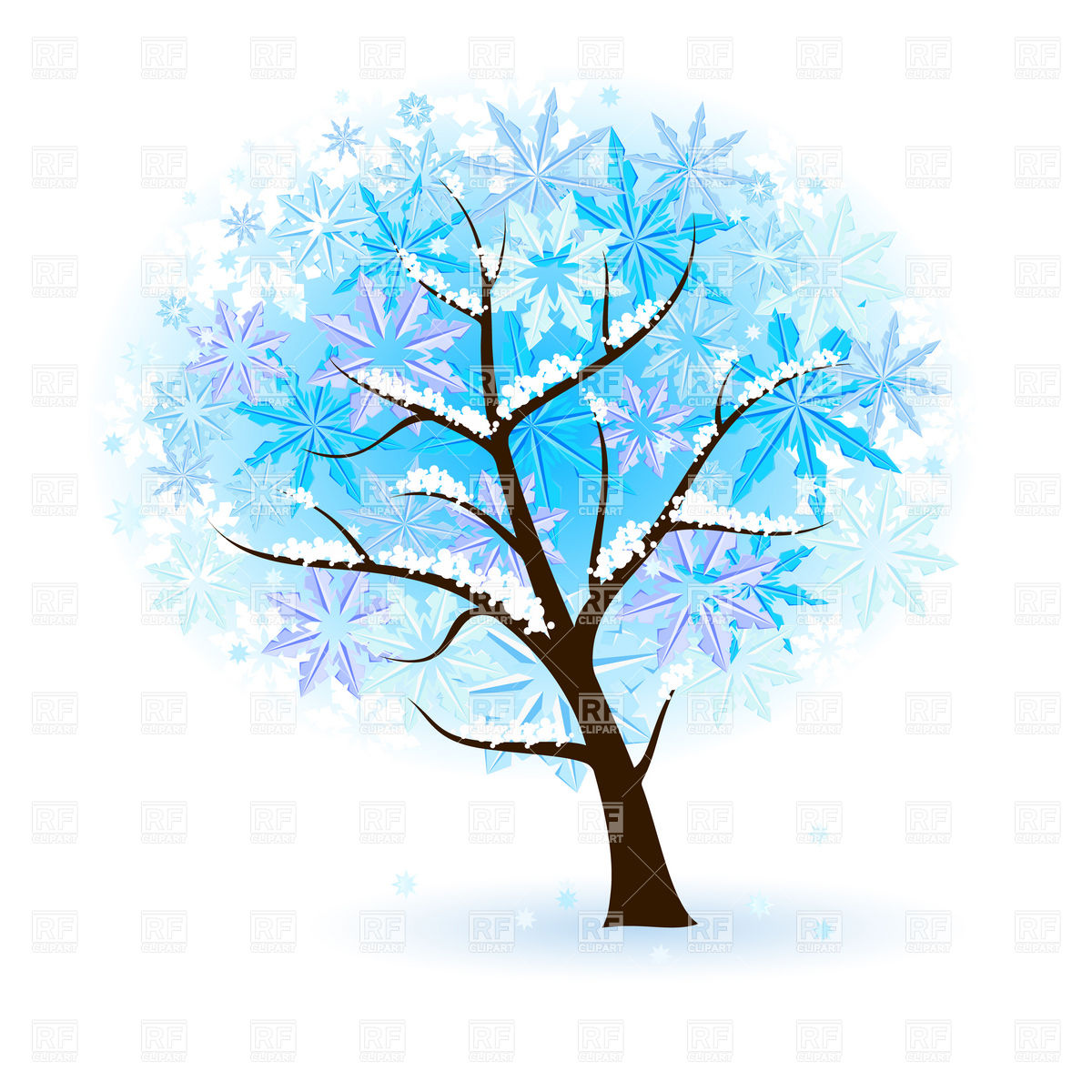 27315 Winter free clipart.