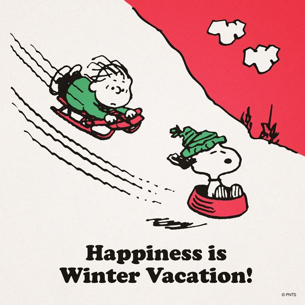 Snoopy winter clip art.