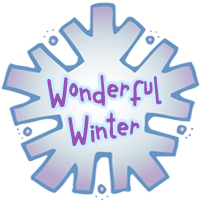 Wonderful Winter Clip Art, Fonts & Printables by DJ Inkers.