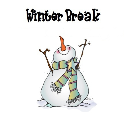 Winter break clip art.