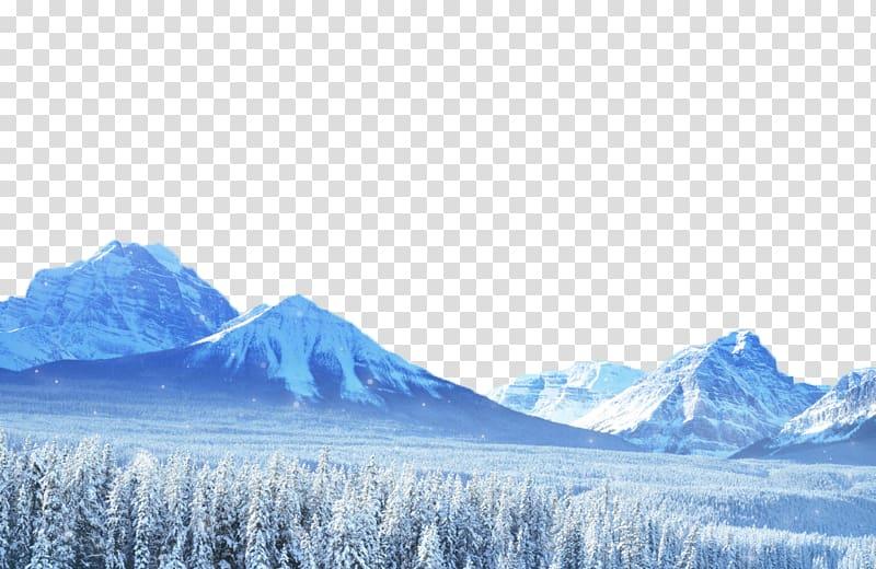 Winter Snow Fukei, Posters Decorative Snowy background.