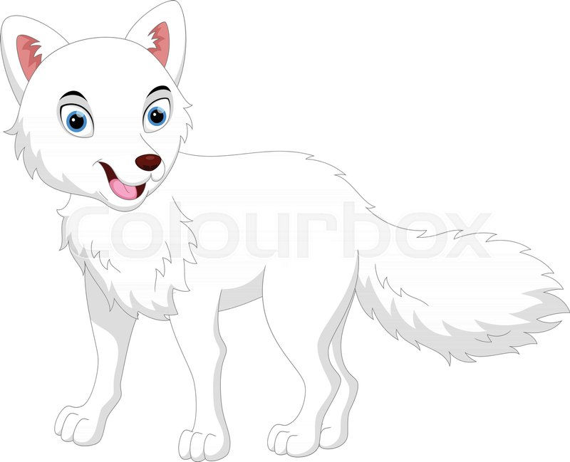 Vector Illustration of cartoon Arctic.