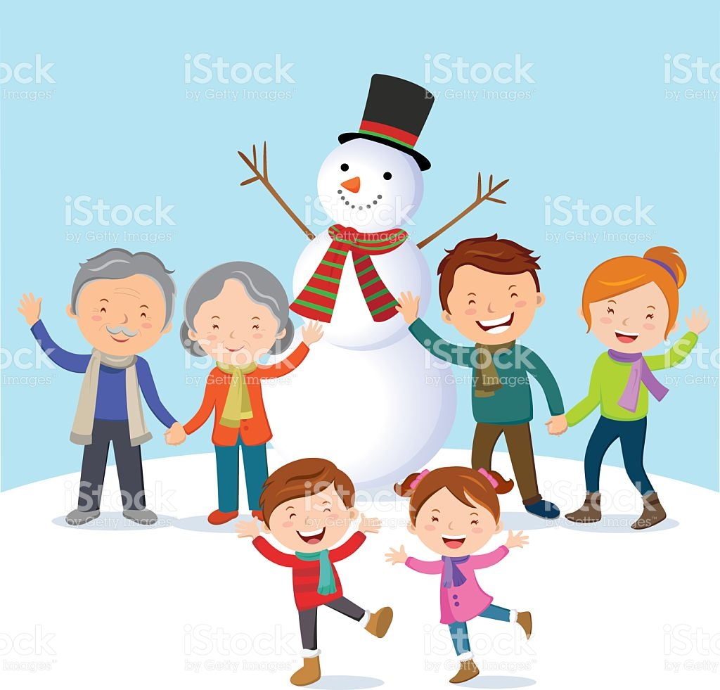 22812 Winter free clipart.