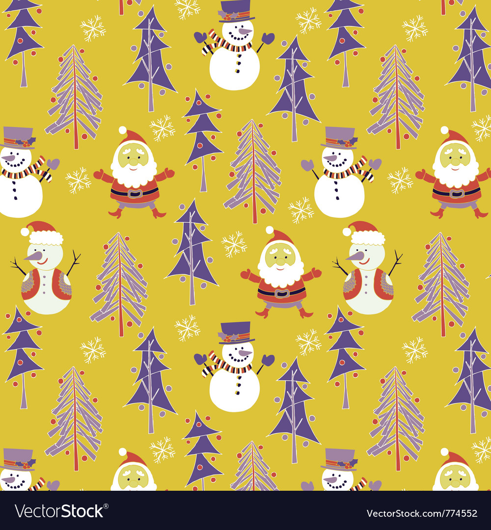 Santa winter wallpaper.