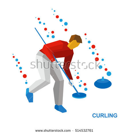 Curling Sport Stock Photos, Royalty.
