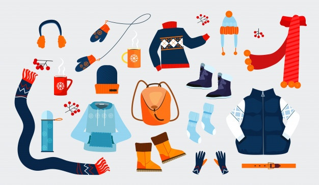 Winter Clothes Vectors, Photos and PSD files.