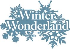 Free Winter Wonderland Clipart.