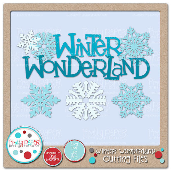 Winter Wonderland Clipart.