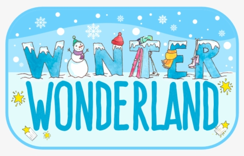 Free Winter Wonderland Clip Art with No Background.