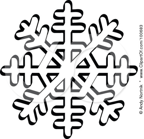 Winter Wonderland Clipart Black And White.
