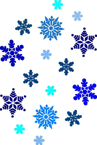 Winter Wonderland Border Clip Art.