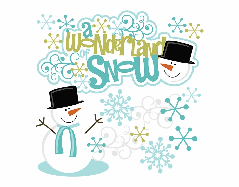 Download for free 15 PNG Winter clip art wonderland top.