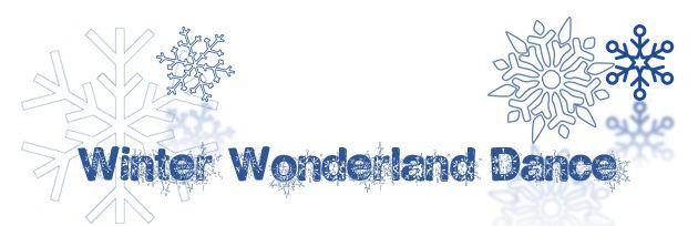 Winter Wonderland Dance.