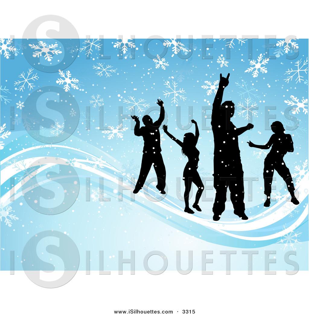 Winter Dance Clipart.