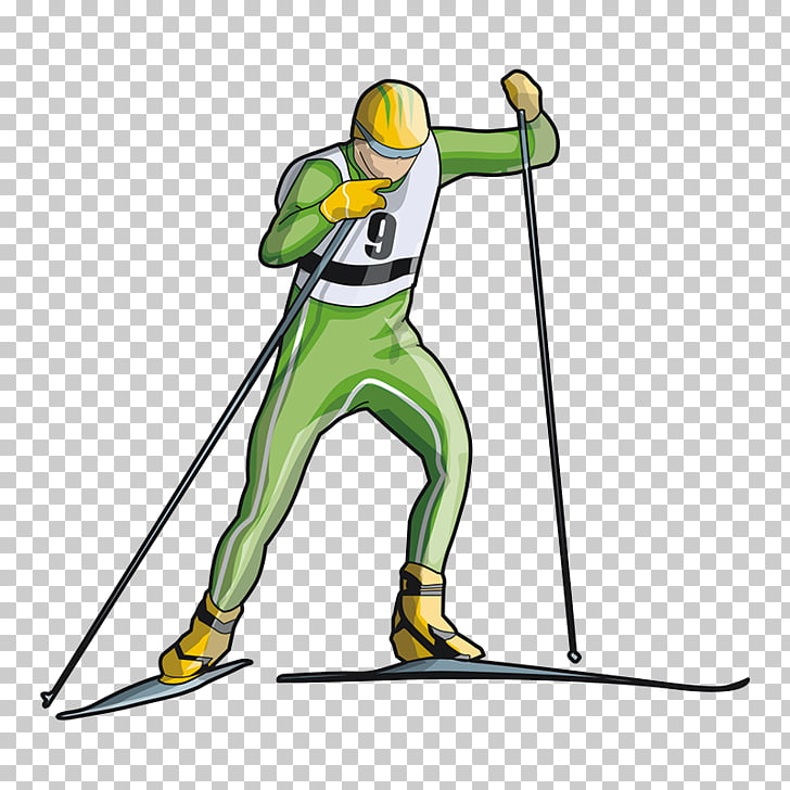 Ski pole Cross.
