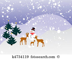 Winterlandschaft Clip Art Lizenzfrei. 15.757 winterlandschaft.