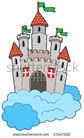 Castle Scene Stock Photos, Royalty.