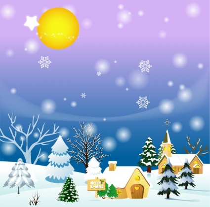 Snowing Clip Art Winter.