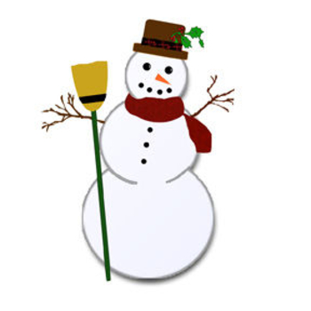 Winter Time Free Clipart.