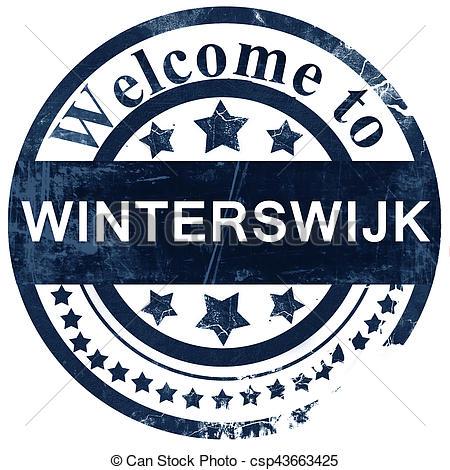 Clip Art van postzegel, witte, winterswijk, achtergrond.
