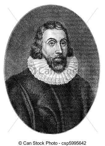 Clip Art of John Winthrop (1587/8.