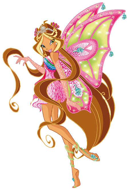 Winx Club: Flora! Flora is the Guardian Fairy of Nature from.