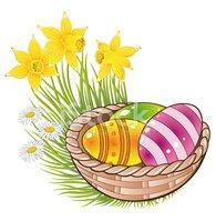 Wiosna, Wielkanoc Stock Vector.