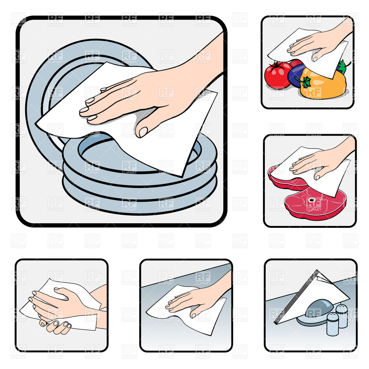 Kitchen Table Clip Art: Wipe Clipart 20 Free Cliparts