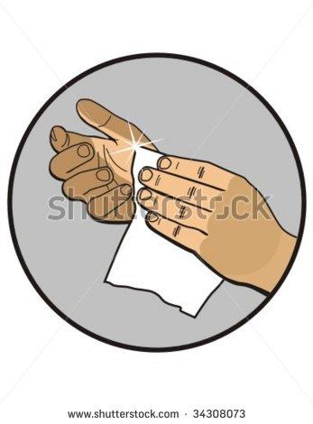 Wipe Clipart.