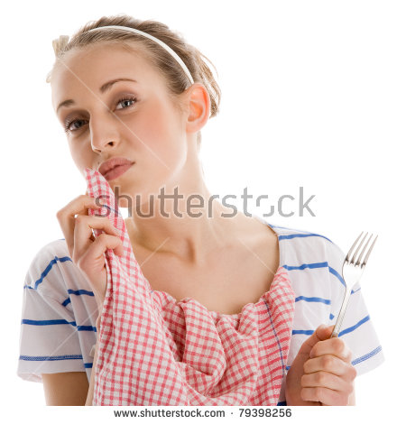 Wiping Mouth Stock Images, Royalty.