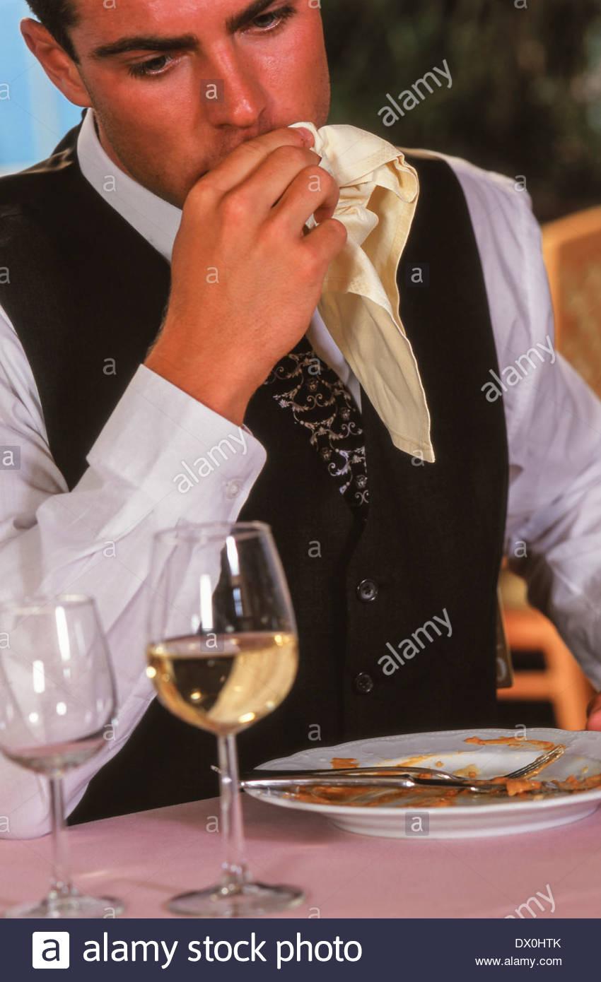 Man Wiping Mouth Napkin Stock Photos & Man Wiping Mouth Napkin.
