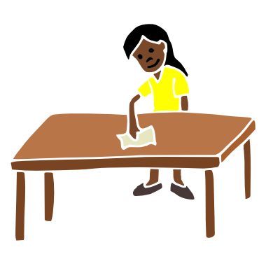 Wiping The Table PNG Transparent Wiping The Table.PNG Images.