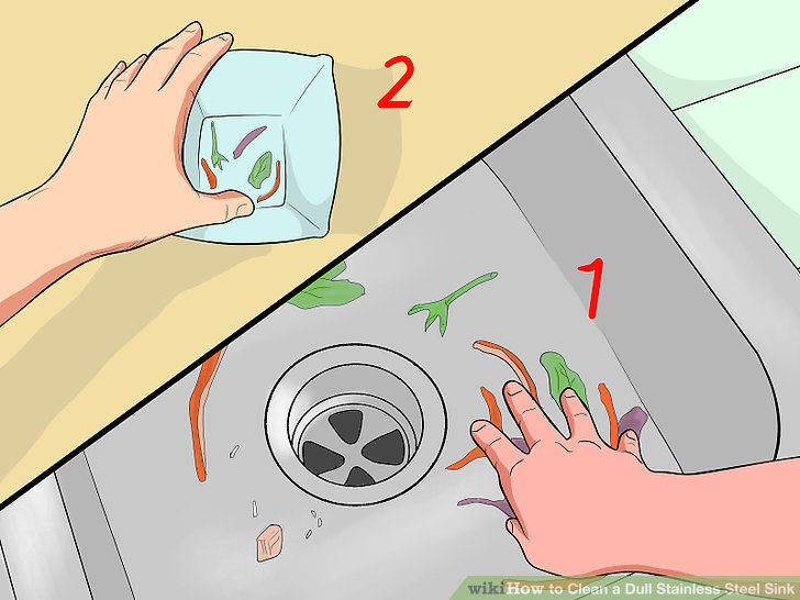 How to Clean a Dull Stainless Steel Sink: 14 Steps (with.