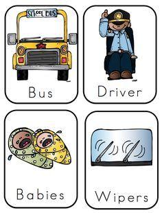 Preschool Printables: Wheels on Bus.