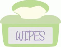 Wipes Clipart.