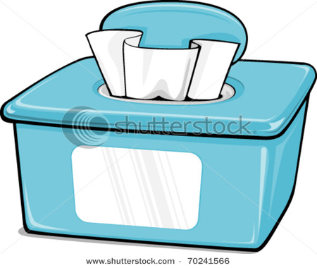 Cleaning wipes clip art.
