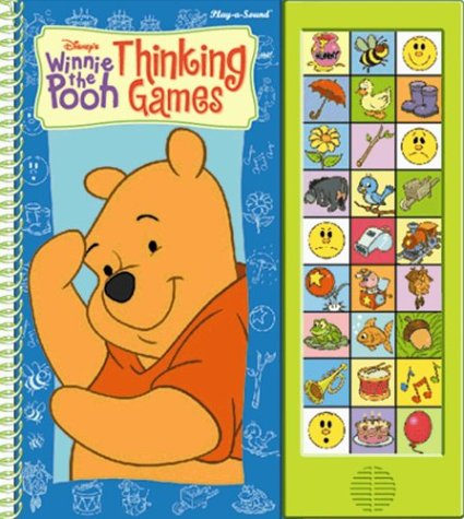 9780785363989: Winnie the Pooh Thinking Games (Wipe Off.