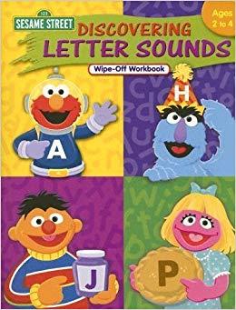 Sesame Street Discovering Letter Sounds Wipe.