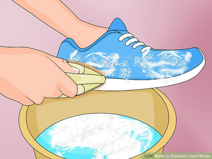 3 Ways to Disinfect Used Shoes.