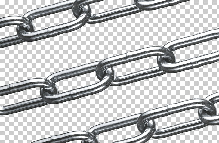 Chain Wire rope Stainless steel Material, chain PNG clipart.