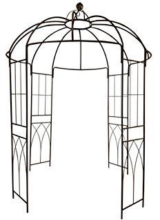 Amazon.com : Vintage Look Black Wire Decorative Garden Arch.