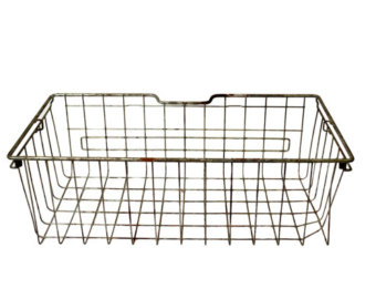 Wire basket.