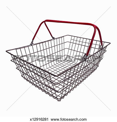 Stock Photography of Close up of a wire basket x12916281.