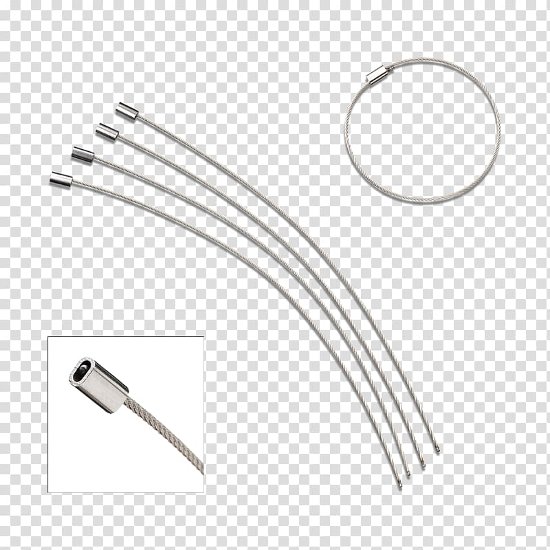 Wire Car Line Electrical cable, Snap Fastener transparent.